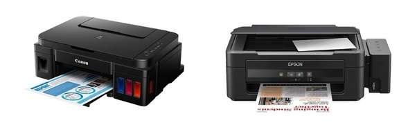 Which is better for an ink tank system, an Epson printer or Canon