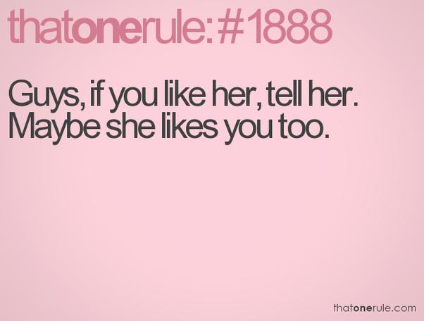 Fortæl hende? jeg skulle