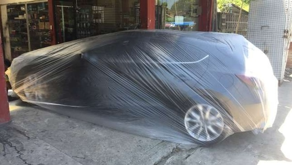 How long does it take for paint on a car to dry and also a