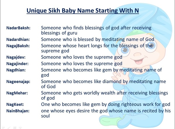 Sikh baby names with j