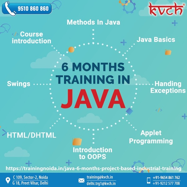 This Easy To Learn Programming Language Can Be Understood By Taking Best Java Online Training With Certification That Is Provided By Kvch