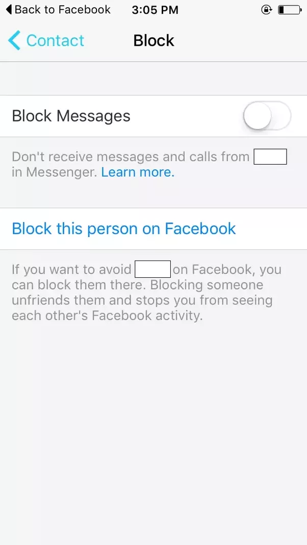 how to know when someone blocked you on facebook