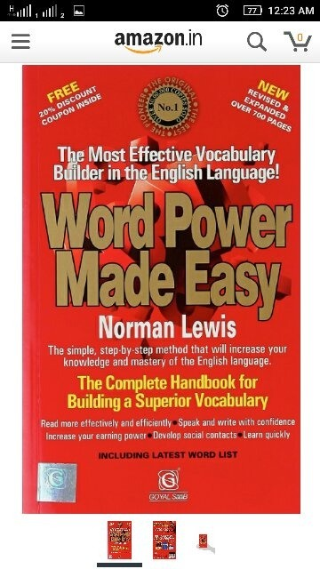 What are the best books for ssc cgl preparation quora english 1 word power made easy norman lewis fandeluxe Gallery