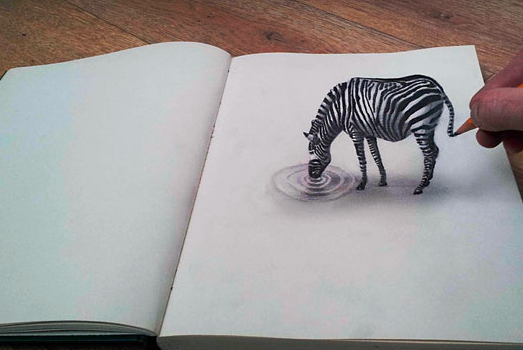 3d Drawing On Lined Paper : How to draw d sketches quora