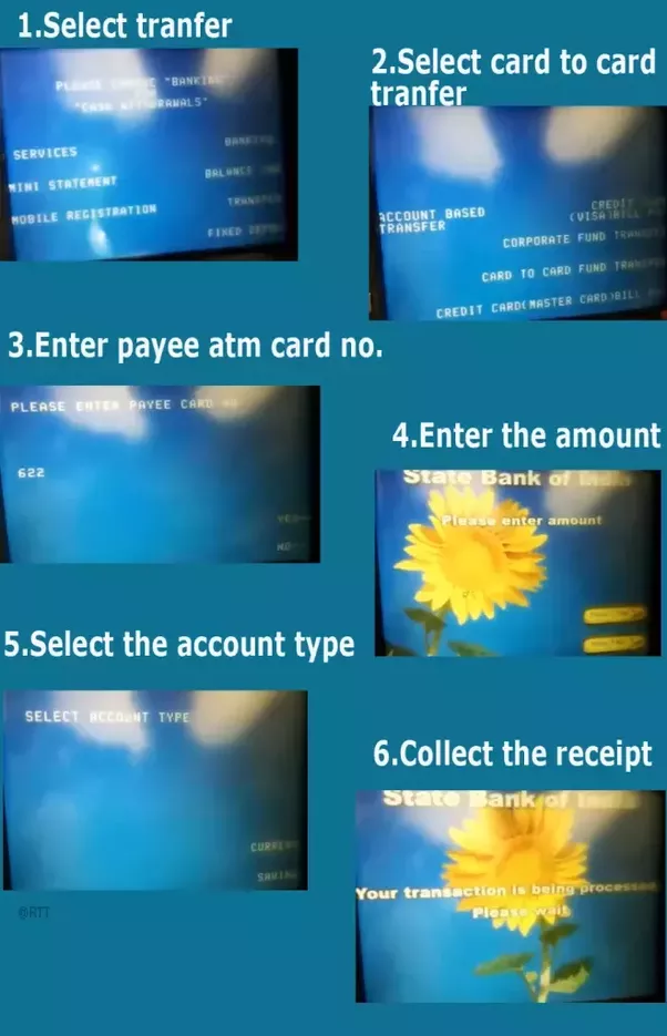 How to transfer money from UBI to Vijya Bank through ATM to ATM - Quora