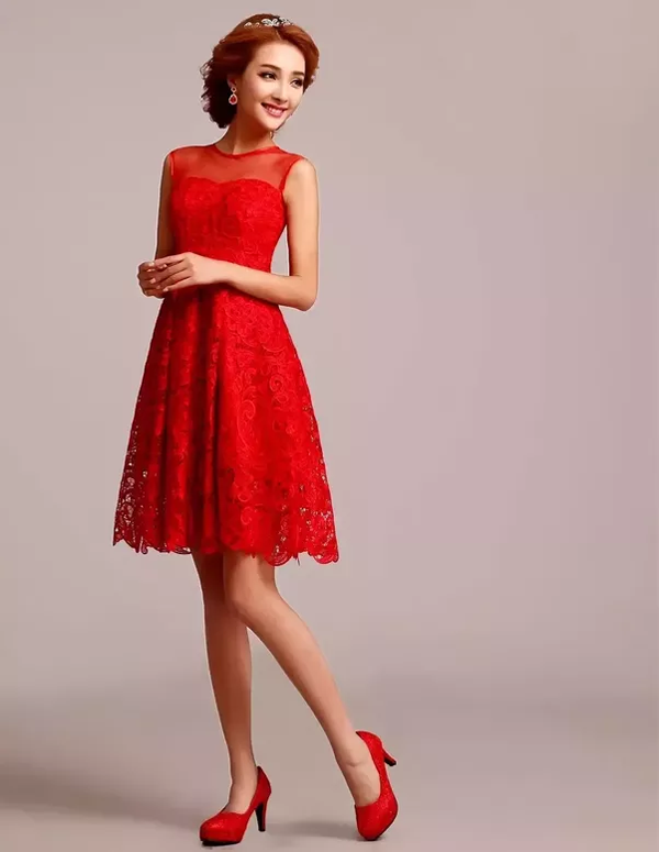 Question answered: What color shoes should I wear with a red dress?