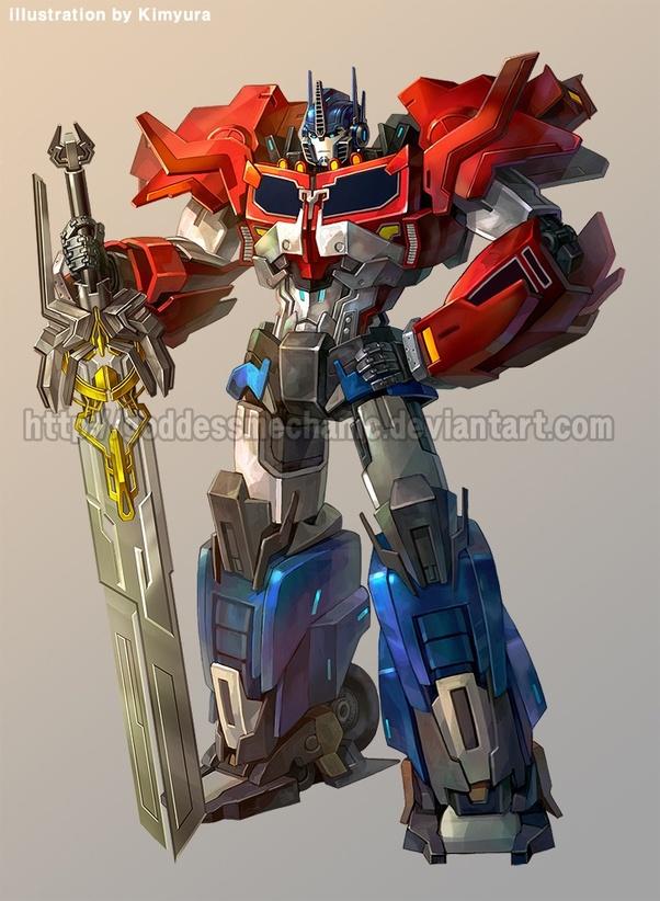 Why can Optimus Prime defeat 3 decepticons? - Quora