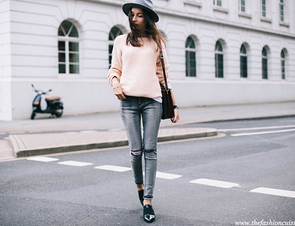 e89365ade6 What goes with grey jeans  - Quora