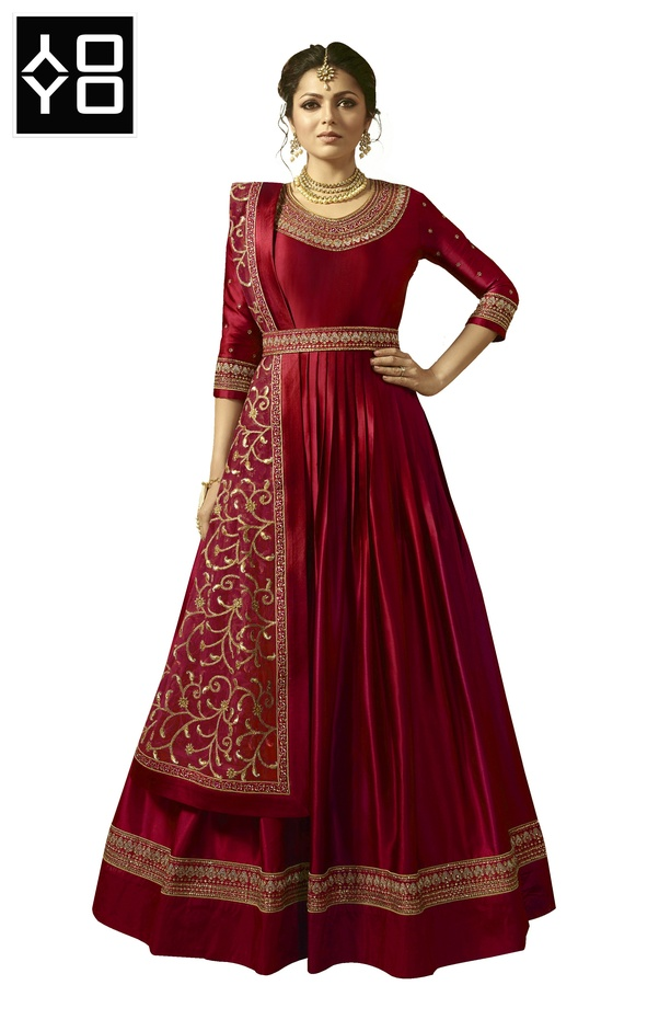 f4ff17f7e5 YOYO Fashion is India's best online store for Indian ethnic wear. It houses  Designer Salwar Suits, Anarkali Suits, Kurtis, Sarees, Saree Blouses, ...