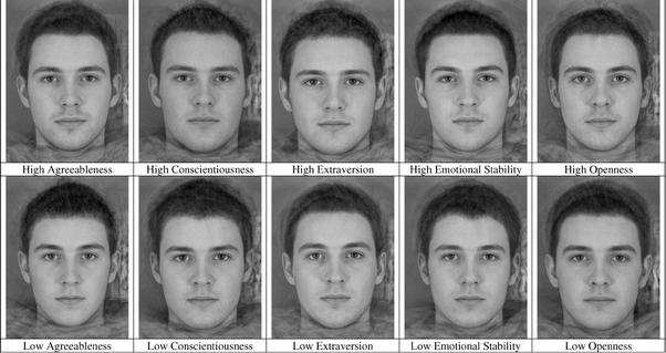 Facial attraction studies
