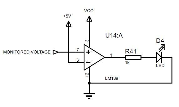 Would it be possible to create a circuit that turns on an LED light ...