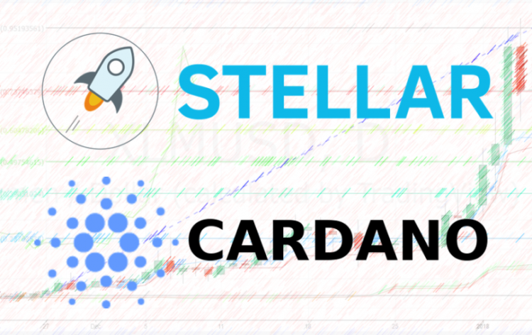 Will Cardano and Stellar Lumens reach $5 - $10 in late 2018