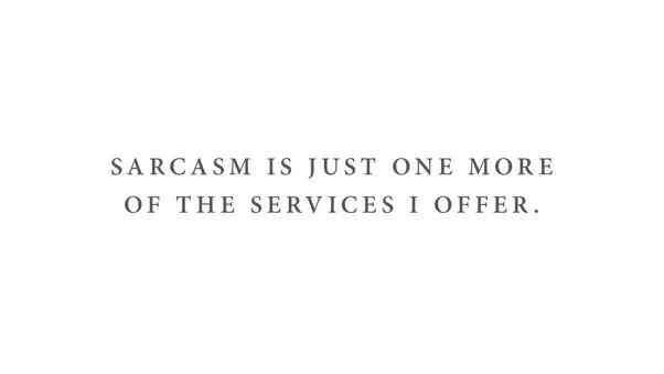 Sarcasm personality test