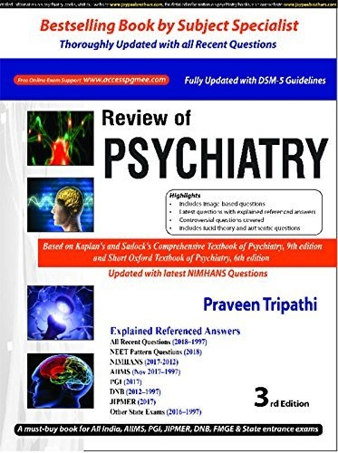 Which psychiatry review book is best for NEET PG exam? - Quora