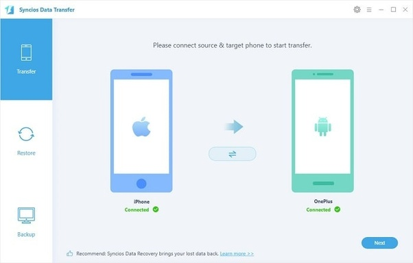 How to move all my data from an iphone to an android device - Quora