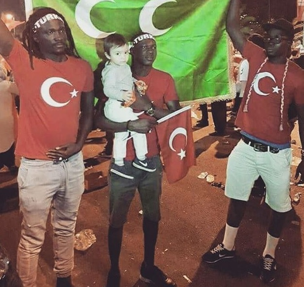 Do turkish men like black women