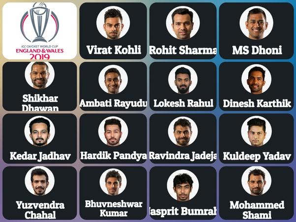 World cup 2019 teams list photo