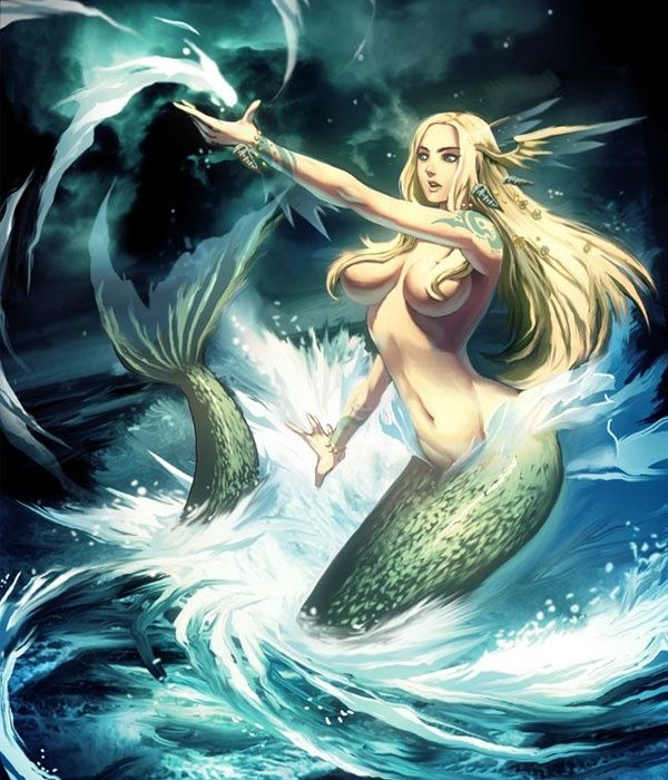 How does a mermaid have sex