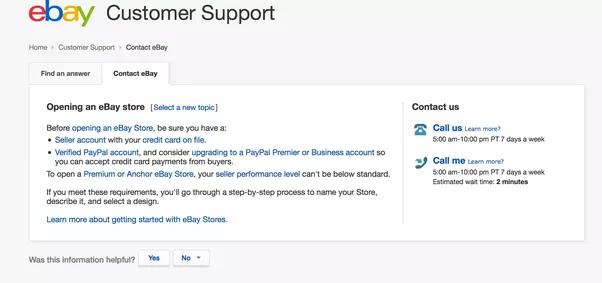 how to talk to ebay customer service