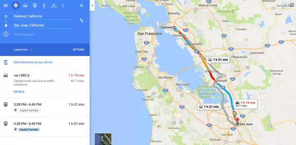 When is rush hour between Oakland and San Jose? - Quora