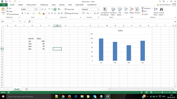 How to add a floating chart like freezing top row in excel 2013 how to add a floating chart like freezing top row in excel 2013 quora ccuart Images