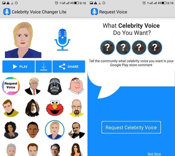 Celebrity Voice Changer for Android - APK Download