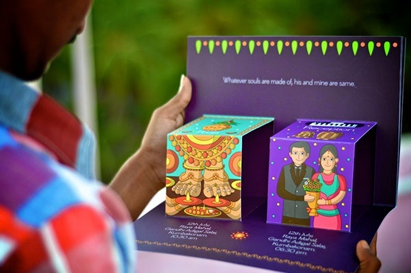 Awesome Unique Indian Wedding Invitations Styles & Ideas