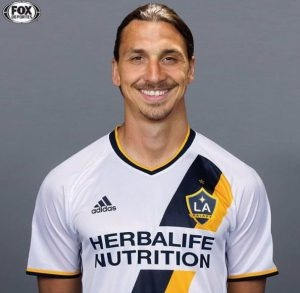 LA Galaxy Zlatan Ibrahimović Youth Player T shirt