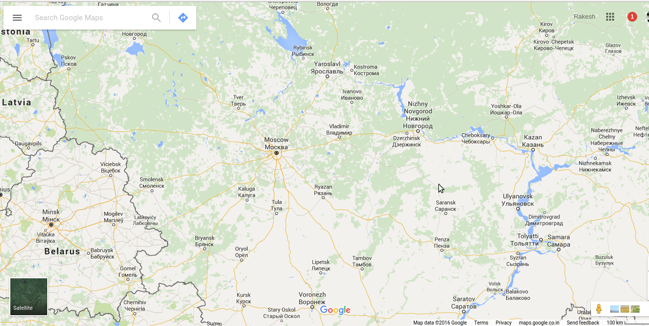 Why are Russian places not shown in Google Maps? - Quora Zoomed In Map Of Russia on red sea in map, yellowstone falls map, see a world map, new world map,
