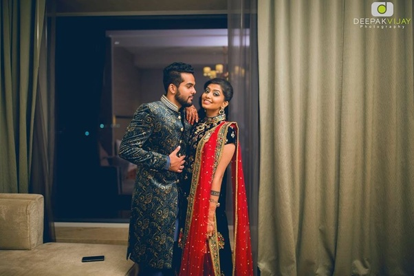 What Is The Best Wedding Reception Costume For Indian Bride
