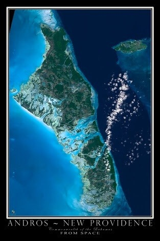 Why didnt biggest island in the Bahamas Andros become the