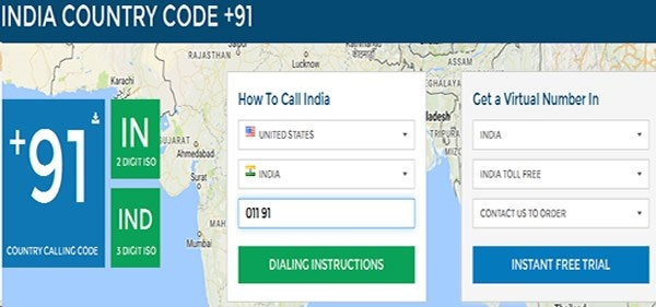 What sites provide cheap or free Indian phone numbers? It