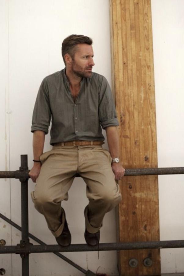 Do a grey shirt and khaki pants match? - Quora