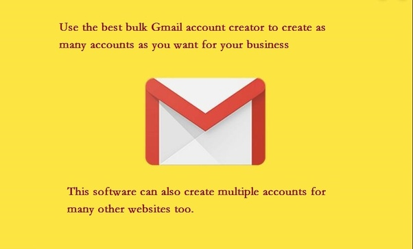 How to create 500 gmail accounts quickly - Quora