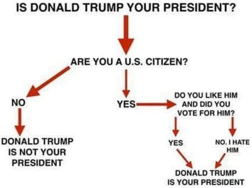 Image result for like it or not trump is your president