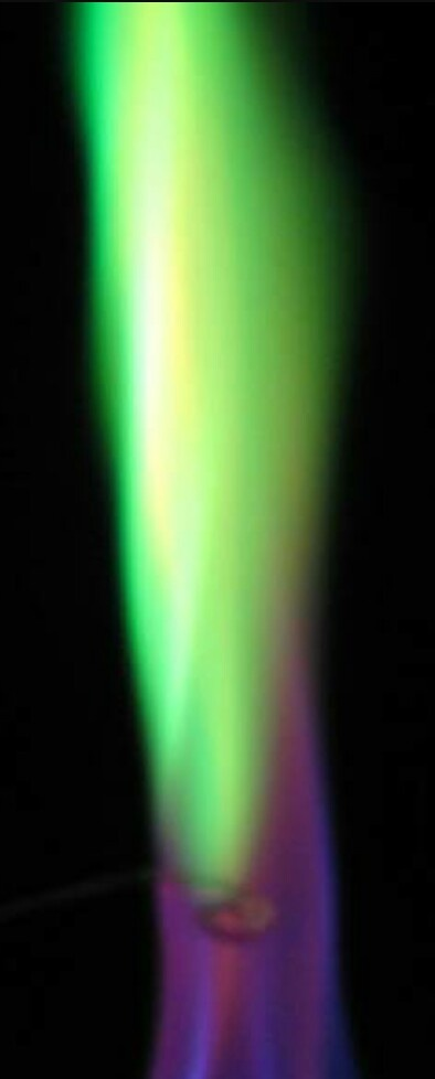 What Is The Color Of The Barium Chloride In The Flame