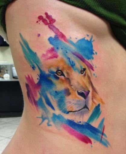 How do tattoo artists make watercolor tattoos? - Quora