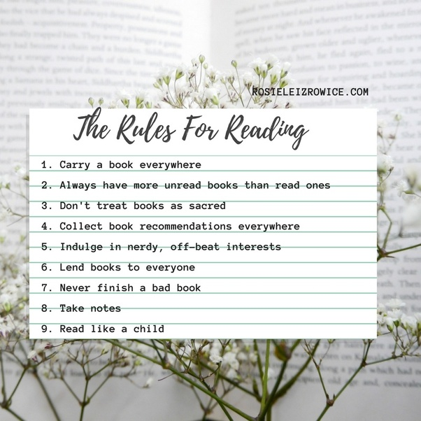 How to get the most out of what you read quora ive written a 12730 word guide to getting the most out of books but heres the short version the fundamentals that help me truly enjoy reading and get fandeluxe Gallery