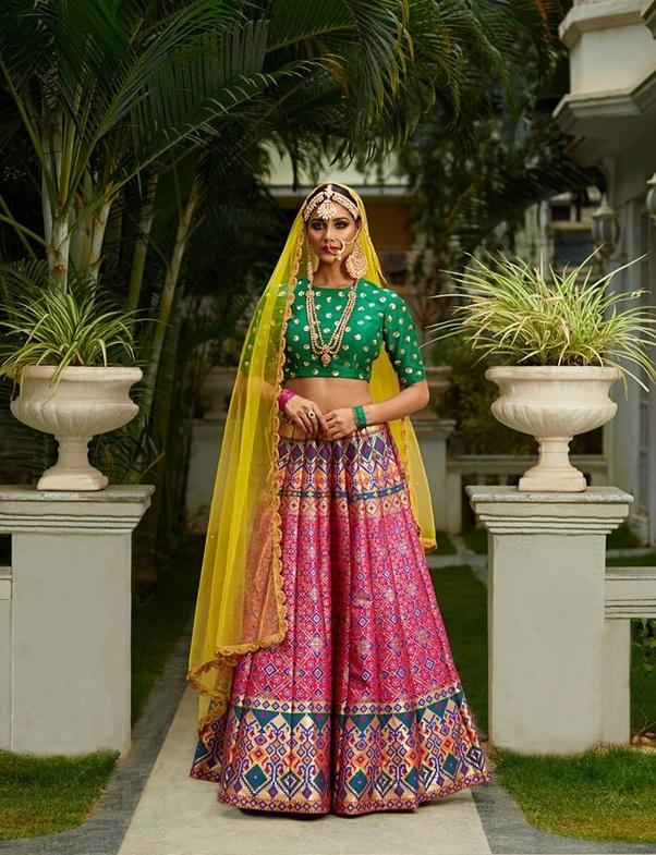 Where do we get a good bridal lehenga in bangalore within