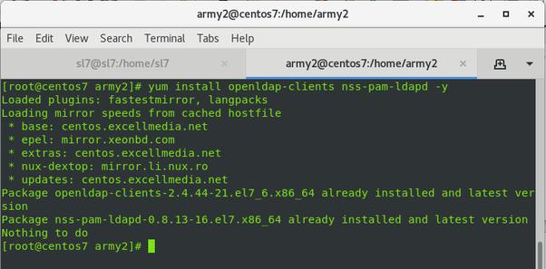 How to configure LDAP in Scientific Linux 7 or RHEL 7 - Quora