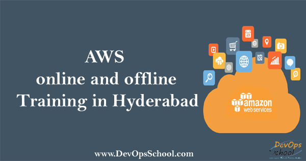 What is the AWS online and offline training in Hyderabad