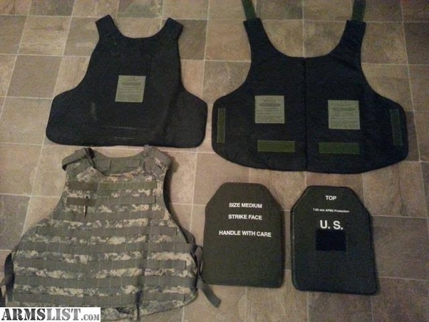 What's the difference between a bulletproof vest vs plate
