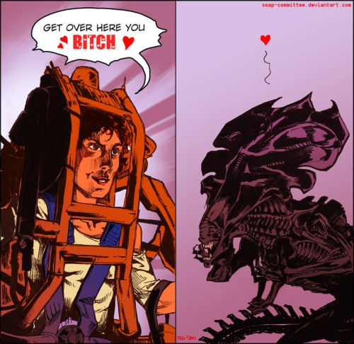 Is there anything that can beat a Xenomorph Queen? - Quora