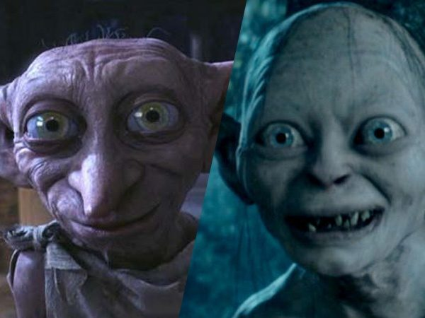 how do dobby from harry potter and gollum from lord of the rings