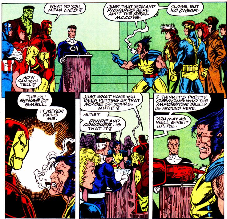 aa04ed59706 Where are the X-Men during Infinity War in the comics? - Quora