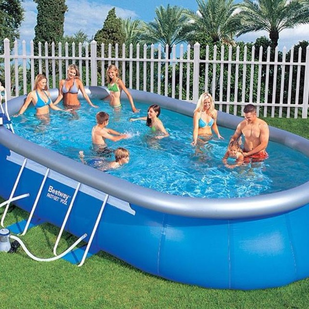 What are the advantages of an inflatable swimming pool? - Quora