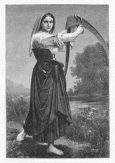 What did French peasant women wear in the 18th century ...