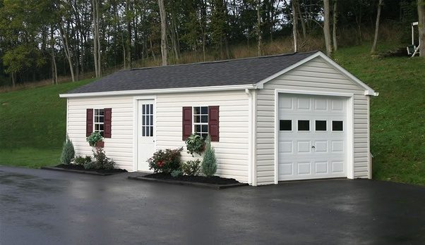 How Much Does It Cost To Build A Garage on 2 car garage, best paint for inside garage, ultimate garage, building a garage,