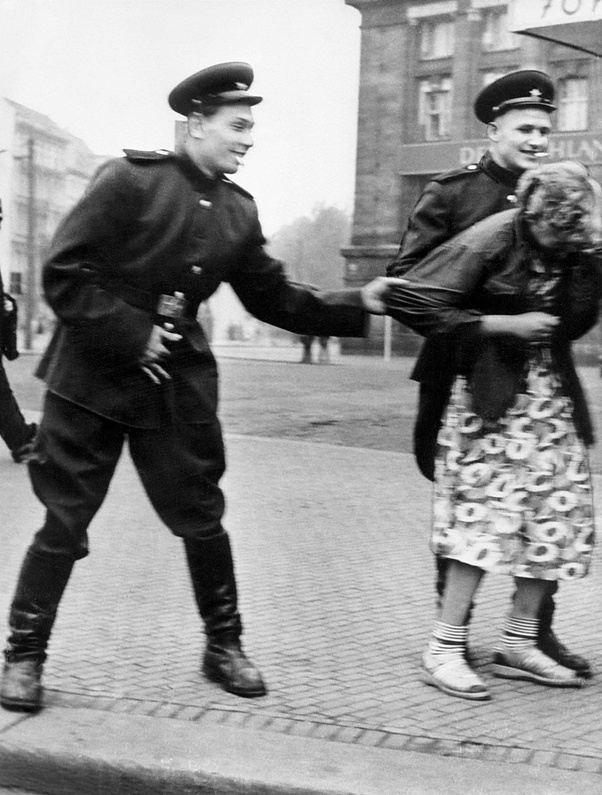 Captured women