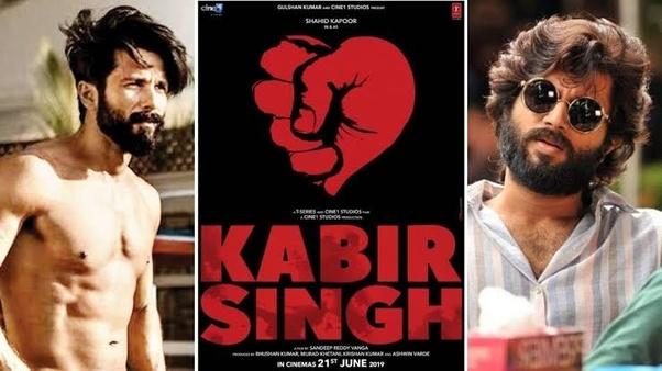 Which Tamil Film Is The Bollywood Movie Kabir Singh Starring Shahid
